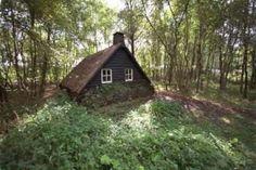Veenmuseum Vriezenveenseveld.    Dit waren vroeger woningen voor de veenarbeiders.   Vriezenveen.       Nederland.
