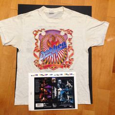 Dokken Band BREAKING THE CHAINS Vintage Style Licensed Adult T-Shirt All Sizes