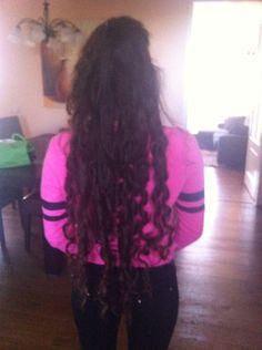 Hair cocoon curls