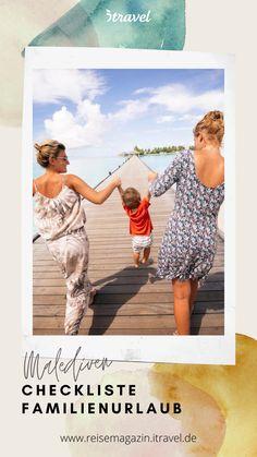 Die Seele baumeln lassen, gemeinsame Abenteuer erleben und die kostbare Familienzeit genießen – Checkliste & Reisetipps für den perfekten Urlaub auf den Malediven! #malediven #familie #urlaub #reise #reisen #familienurlaub #tipps #reisetipps #reiseinspiration #checkliste Summer Family Pictures, Family Picture Outfits, Travel Tips, Indie, Polaroid Film, Health, Travel, Amazing Places To Visit, Family Getaways