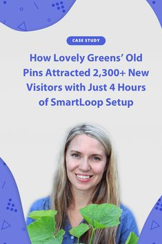 1,700 Repins after just 4 hours of setup? See how SmartLoop helped Tanya share her best Pinterest Pins to add 3,000 website sessions in less than 2 months.