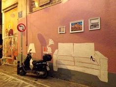Pittaki, Psiri, Athens Greece photo by ef. My Athens, Athens Greece, Public Display, Street Art Graffiti, Cyprus, Urban Art, Murals, The Neighbourhood, Greek