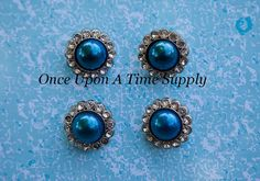 Hey, I found this really awesome Etsy listing at https://www.etsy.com/listing/170461383/royal-blue-pearl-center-rhinestone