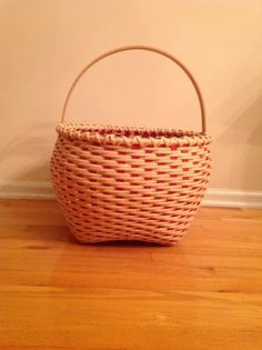 Large cat's head basket, teacher Martha Mulford-Dreswick, Princeton, NJ