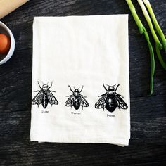 My design inspiration: Bee Trio Kitchen Towel Set Of 2 on Fab.