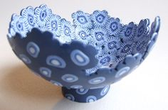 polymer clay bowl (sold, similar available)