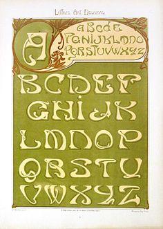 Original French Art Nouveau Color Lithograph for Sale