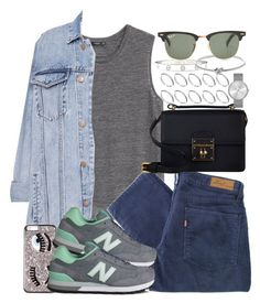 """""""Untitled #3211"""" by hellomissapple on Polyvore featuring MANGO, Pull&Bear, Levi's, New Balance, Dolce&Gabbana, ASOS, Marc by Marc Jacobs, Cartier, Michael Kors and Ray-Ban"""