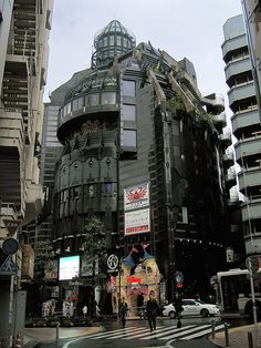 Shibuya. No idea where this building is in Shibuya but I want to find it.  Edit: It's a Disney store. Still don't know the address but now I can google it.