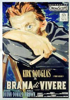 The Cobweb 1955 movie Kirk Douglas, Lust For Life, Great Films, Best Actor, American Actors, Van Gogh, Cinema, Portrait, Movie Posters