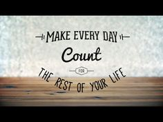 Joseph Prince - Make Every Day Count For The Rest Of Your Life DVD Trailer
