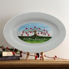 5375 - Our Family Tree Personalized Platter