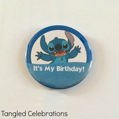 Hey, I found this really awesome Etsy listing at https://www.etsy.com/listing/234669736/stitch-its-my-birthday-disney-park
