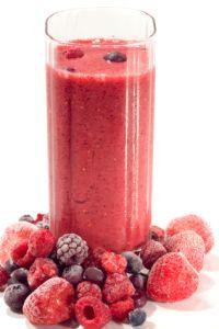 Paleo berry smoothie (Mix Berry Slushie)