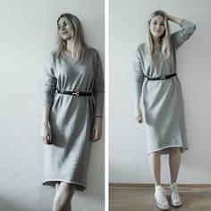 just female dress, converse sneakers, YSL belt   www.lily.fi/palsta/lilous-crush