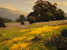 Spring Mustard by Brian Blood - Oil