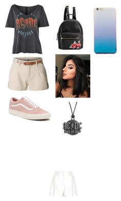 """AC☇DC"" by laura1298 on Polyvore featuring Topshop, River Island, LE3NO, Vans and AC/DC"