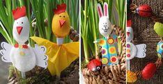 5 ADORABLES bricolages de Pâques les pour enfants, à faire avec des cuillères de plastique!
