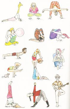 Yoga Dream: A New Illustrated Book of Poses by the Fashion Set's Favorite Teacher