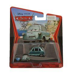 Cars Professor Z is de #6 uit de collectie van Pixar Disney Cars 2 auto's. Hij heeft samen met nog een character een ingenieus plan bedacht om de races te saboteren. Of dat lukt?