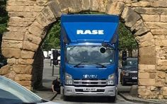 Oldest working Roman arch in Britain damaged by lorry driver who got stuck following his sat nav