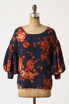Night Phlox blouse from Anthropologie