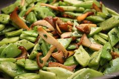 cookvalley - tanker om mad: Skinkeschnitzel med kejserhat, gourmetbønner og fuldkornsbulgur