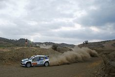 05 GRIEBEL Marijan and WINKLHOFER Pirmin SKODA FABIA R5 action during the 2016 European Rally Championship ERC Cyprus Rally,  from october  7 to 9  at Nicosie, Cyprus - Photo Gregory Lenormand / DPPI