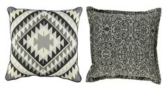 Tribal-print scatter cushions in subdued colours or neutral hues are a quick, cost-effective way to makeover a lounge or bedroom. Scatter Cushions, Throw Pillows, Tribal Decor, Tribal Prints, Neutral, Lounge, African, Textiles, Colours