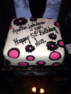 50th. Birthday cake.