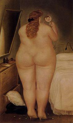 Fernando Botero - The Morning Toilet (1971)