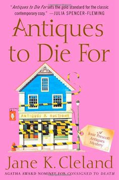 A great book series if you like antiques and mysteries set in a cozy town.