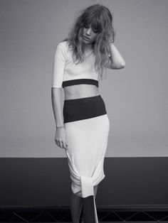 Freja Beha Erichsen is at Her Personal Best for Russh Shoot by Benny Horne