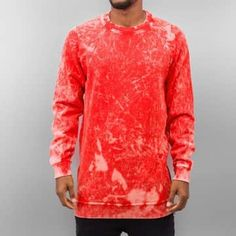Just Rhyse Pullover rouge