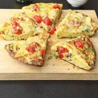 Omelette wedges | Polq's Recipes  serves 4 - 390 calories per serving