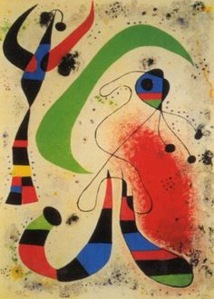 Night Art Print by Miro, Joan Spanish Painters, Spanish Artists, Joan Miro Pinturas, Miro Artist, Abstract Expressionism, Abstract Art, Abstract Landscape, Joan Miro Paintings, Oil Paintings