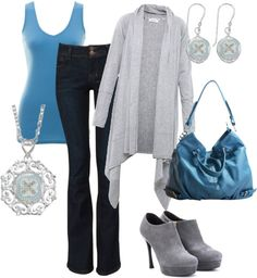 """""""Blueberry Kisses"""" by jewelpop on Polyvore"""
