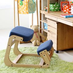 Ergonomically Designed Kneeling Chair Wood Modern Office Furniture Computer Chair Ergonomic Posture Knee Chair For Kids Study. Used Office Chairs, Cheap Office Chairs, Ergonomic Kneeling Chair, Ergonomic Chair, Office Furniture, Home Furniture, Furniture Design, Modern Furniture, White Wooden Chairs