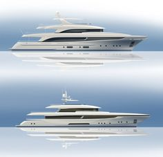 Moonen Shipyards in the Netherlands has revealed two striking new designs just under the 500 GT mark in lengths of 49 and 42 metres, with aluminium and steel hulls respectively.   Read the complete article by visiting the link above.