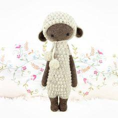 """lalylala » crochet pattern """"LUPO the lamb"""""""