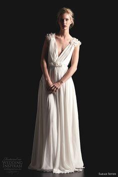 Spring 2014 Parisian Wedding Dresses | sarah seven wedding dresses spring 2014 long last wedding gown
