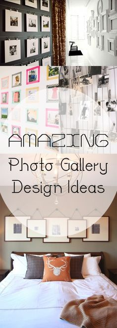 Amazing Photo Gallery Design Ideas. DIY, DIY home projects, home décor, home, dream home, DIY kitchen, DIY kitchen projects, weekend DIY projects.