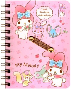 Sanrio My Melody Lovely Hard-Cover Pocket Notebook