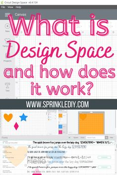 What is Design Space and how does it work? If you've been asking yourself these questions, head over to the blog to get all the information you need to learn all about Cricut Design Space. #Ad #CricutMade #Cricut #CricutCreated What Is Canvas, What Is Design, Does It Work, Cricut Design, Fun Crafts, Diy Projects, How To Get, Group, Learning