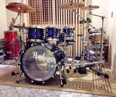 Pearl Drums, Drums Beats, Famous Musicians, Drum Kits, Kite, Instruments, Celebrity, Pearls, Random