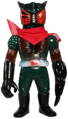 Dark Green Chaosman No. 3 by RealxHead