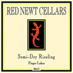 2013 Red Newt Semi-Dry Riesling 750 mL * Find out more about the great product at the image link.