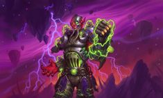 The new warlock hero - Mecha Jaraxxus and the new Gameboard! Wow Horde, Witches Woods, Hearthstone Heroes, Gif Animé, Wow Art, World Of Warcraft, Game Art, Anime, Fantasy