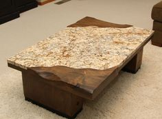 Furniture: Desired Granite Coffee Table With Rectangular Shape Can Be Inspiration For Your Minimalist Home Place With Black Surface Part Or Called Table And Adding Carpet Under Table from Desired Granite Coffee Table