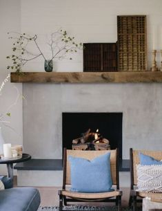 Renovation Diary: Our Living Room and Fireplace Revamp — Malmo & Moss